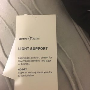 Old Navy Intimates & Sleepwear - Old Navy light support sports bra top-BRAND NEW